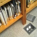 AIB denuncia la situación de la biblioteca municipal