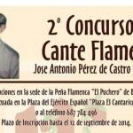 Se abre el plazo para participar en el II Concurso de Cante Flamenco