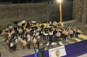 """La Asoc. Unión Musical Bailenense en el VI Certamen """"Villa de Lopera"""". Foto: morales.blogspot.com.es"""