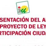 IU presenta en Bailén el anteproyecto de la Ley de participación ciudadana