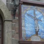 Un retablo del Cristo recibe a los fieles en su ermita