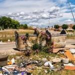 El PP denuncia la falta de limpieza en las calles de Bailén