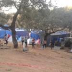 El ayuntamiento prepara el plan de seguridad mientras los jóvenes ya acampan en la aldea