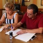 Bailén y Guarromán firman el convenio de colaboración para la romería