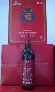Nueva botella Duque de Bailén