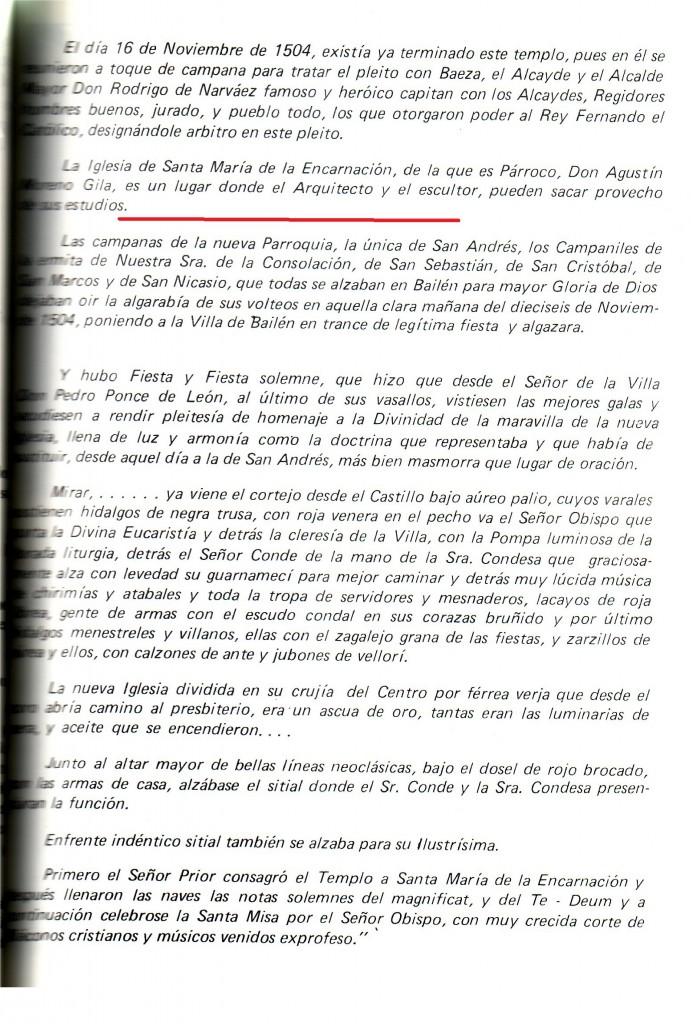 Página 71 del libro de Matías de Haro, 1985