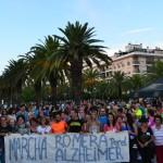 Caminata a favor de los enfermos de Alzheimer
