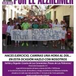Este viernes finaliza el plazo de inscripción para la Marcha por el Alzheimer