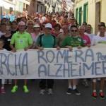 Fin de fiesta con las chirigotas bailenenses para la Marcha romera por el Alzheimer