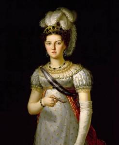 María Josefa Amalia de Sajonia, Reina consorte de España.