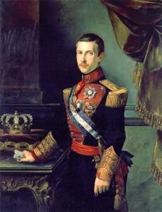 Don Francisco de Asís de Borbón, Rey consorte y Duque de Cádiz.