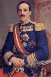 El Rey don Alfonso XIII