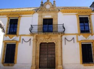 """Casa Palacio de don Alonso Bernal Escamilla, popularmente conocida como """"La Casa de las Cadenas"""", Carmona (Sevilla), Felipe IV, en 1624, durmió en ella."""