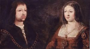 Los Reyes Católicos, Fernando e Isabel.