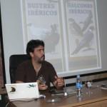 El bailenense Diego Ortega presenta el Cuaderno Halcones Ibéricos