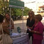 ADICAE presenta en Bailén la campaña Luz a precio justo
