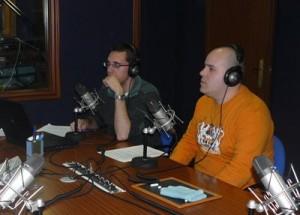 """Fco. Javier Cabrera y Juan Pedro Lendínez en el programa """"Entre Varales"""""""