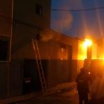 Extinguido un incendio en la calle Cantarranas sin daños personales