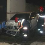Extinguido el incendio de un vehículo sin que haya que lamentar heridos