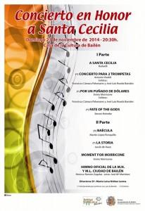 Cartel Concierto Santa Cecilia 2014 (2)