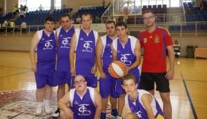 Equipo de baloncesto de Educación Especial del  CPD Bailén