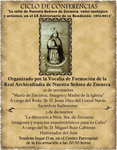 conferencias virgen zocueca
