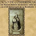 Un ciclo de conferencias celebra el sesenta aniversario de la bendición de la Virgen de Zocueca