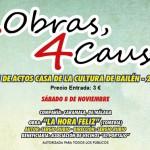 Noviembre, mes de teatro y solidaridad