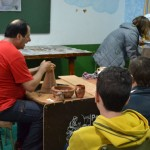Un taller de alfarería para acercar a los más pequeños a la más arraigada tradición de Bailén