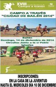 CROSS CIUDAD DE BAILÉN 2014
