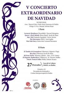Cartel - Concierto Navidad 2014