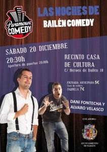 Cartel las noches de Bailén Comedy