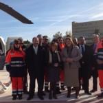 La delegada del gobierno asegura que en breve se pondrá en marcha el helipuerto de Bailén