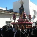 La Inmaculada Concepción procesiona en su día grande