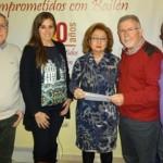 AIB entrega más de dos mil euros a Cáritas