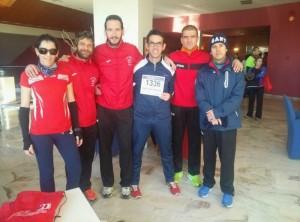 atletismo Media maratón Cartuja