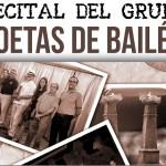Los Poetas de Bailén ofrecen un nuevo recital