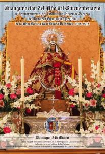 cartel cincuentenario virgen zocueca