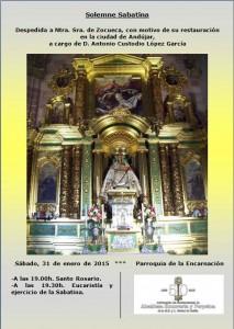 cartel sabatina