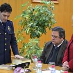 Juan Pedro García toma posesión como Subinspector de la Policía Local de Bailén