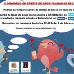 Ya está en marcha el II Concurso de Tweets de Amor