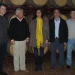 La secretaria general del PP andaluz destaca la riqueza de Jaén en su visita a Bailén