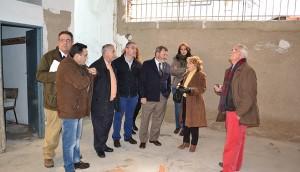 Visita a la remodelación del Mercado de abastos