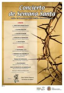 Cartel Concierto de Semana Santa 2015 reducido