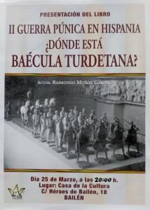 cartel presentación libro