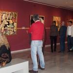 El museo acoge una muestra del pintor linarense Luis Fernández