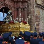 Nuestra Señora de la Piedad llora la muerte de su hijo por las calles de Bailén