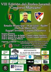 Carte Trofeo Gregorio Manzano2015