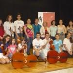 Hoy finalizan con éxito las clases magistrales de violín y violonchelo
