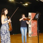Profesoras del más alto nivel ofrecerán unas clases magistrales de Violín y Violonchelo